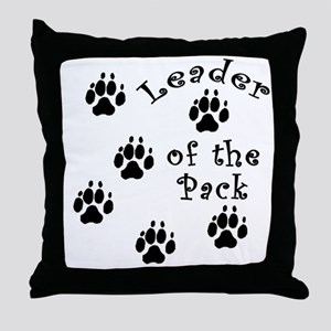DOGGY Leader of the Pack Throw Pillow