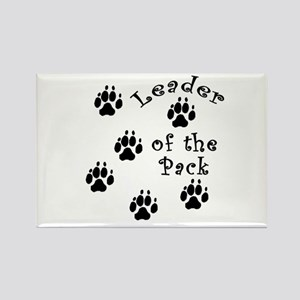 DOGGY Leader of the Pack Rectangle Magnet