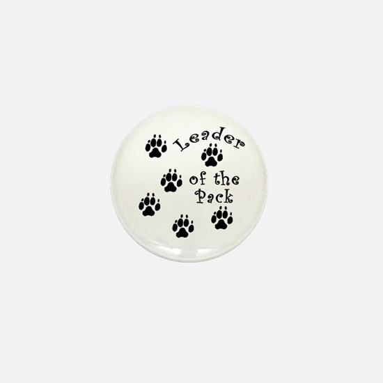 DOGGY Leader of the Pack Mini Button