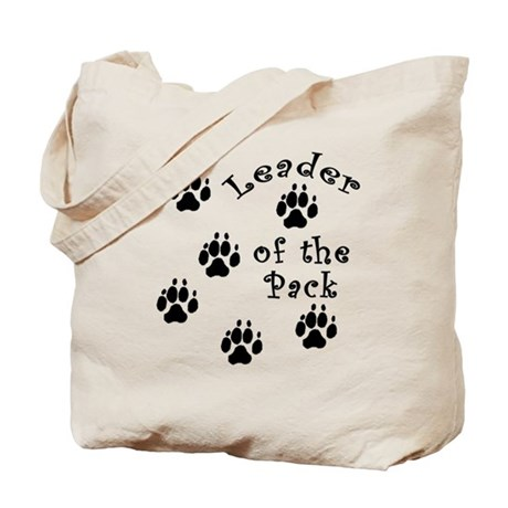 DOGGY Leader of the Pack Tote Bag