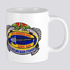 USS GREENLING Mugs