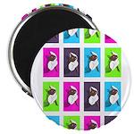 Spinning around Magnets