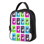 Spinning around Neoprene Lunch Bag