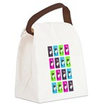 Spinning around Canvas Lunch Bag