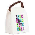 Spinning around Canvas Lunch Bag