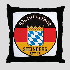 Steinberg Oktoberfest Throw Pillow