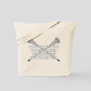 Lacrosse Team Tote Bag