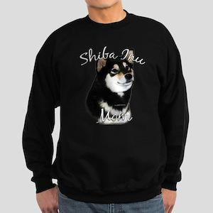 Shiba(blk) Mom2 Sweatshirt