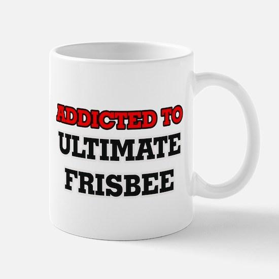 Addicted to Ultimate Frisbee Mugs