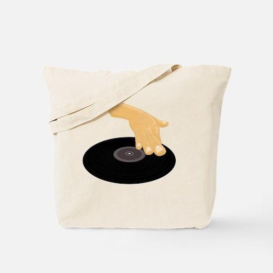 Cute Radio jock Tote Bag