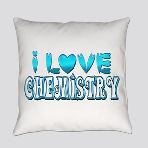 I Love Chemistry Everyday Pillow