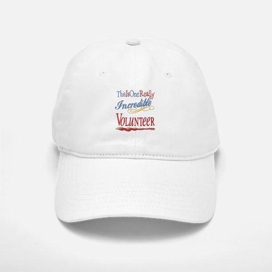 Incredible Volunteer Baseball Baseball Cap