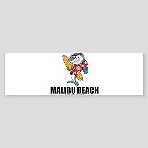 Malibu Beach, California Bumper Sticker