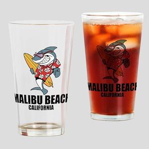 Malibu Beach, California Drinking Glass