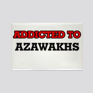 Addicted to Azawakhs Magnets