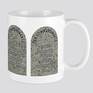 The Ten Commandments Mugs