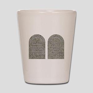 The Ten Commandments Shot Glass
