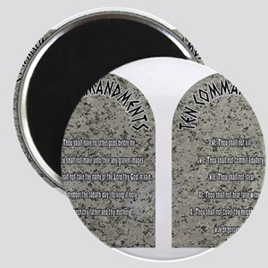 The Ten Commandments Magnets