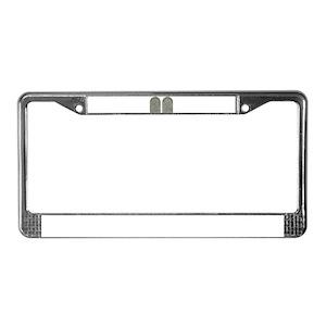 Religious License Plate Frames Cafepress