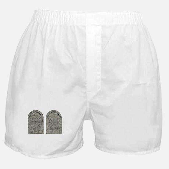 The Ten Commandments Boxer Shorts