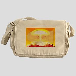 Atomic Bomb Blast Messenger Bag