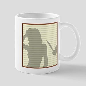 Window Blinds Killer Mugs