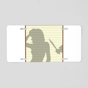 Window Blinds Killer Aluminum License Plate