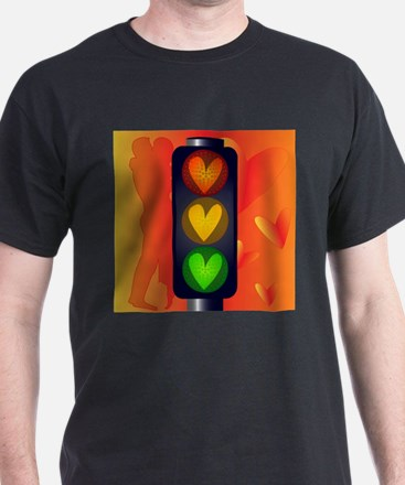 Lovers Traffic Lights T-Shirt