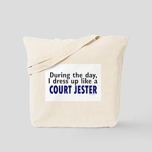 Dress Up Like A Court Jester Tote Bag