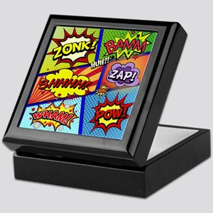 Fun Comic Book Art Keepsake Box