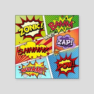 Colorful Comic Sticker