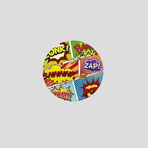 Colorful Comic Mini Button