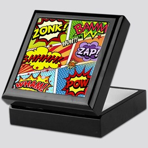Colorful Comic Keepsake Box
