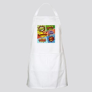 Colorful Comic Apron