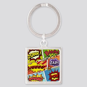 Colorful Comic Keychains
