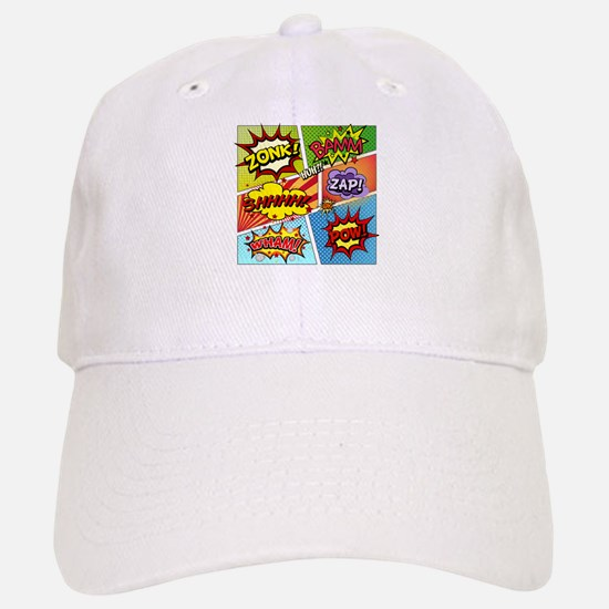 Colorful Comic Baseball Baseball Baseball Cap