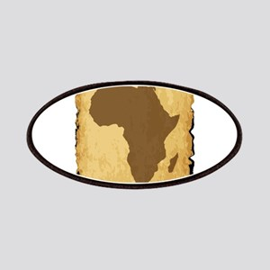 Old African Map Patch