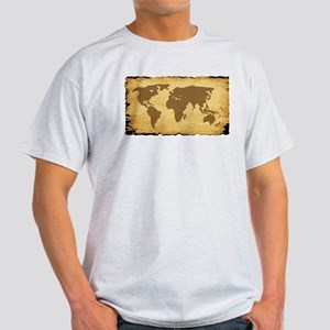 Old World Map On Parchment T-Shirt