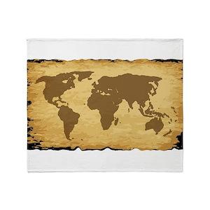 World map blankets cafepress gumiabroncs Choice Image