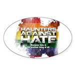 Haunters Against Hate Sticker