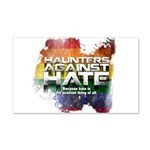 Haunters Against Hate Wall Decal