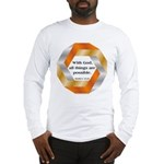 Possible with God Long Sleeve T-Shirt