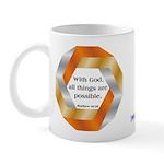 Possible with God Mug