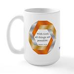 Possible with God Large Mug