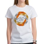 Possible with God Women's T-Shirt