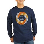 Possible with God Long Sleeve Dark T-Shirt