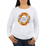 Possible with God Women's Long Sleeve T-Shirt