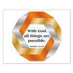 Possible with God Small Poster