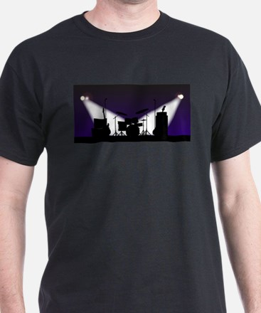 Rock Band Stage Equipent T-Shirt