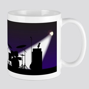 Rock Band Stage Equipent Mugs